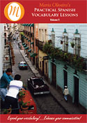 Practical Spanish Vocabulary Lessons bookcover