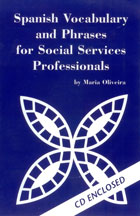 Spanish for Social Services Professionals bookcover