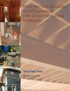 Spanish Vocabulary and Grammar for Construction Workers bookcover